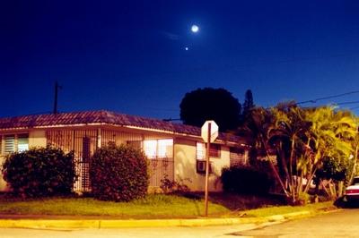 نقاط نورانی دیده شده در آسمان احتمالا سیاره زهره بوده.