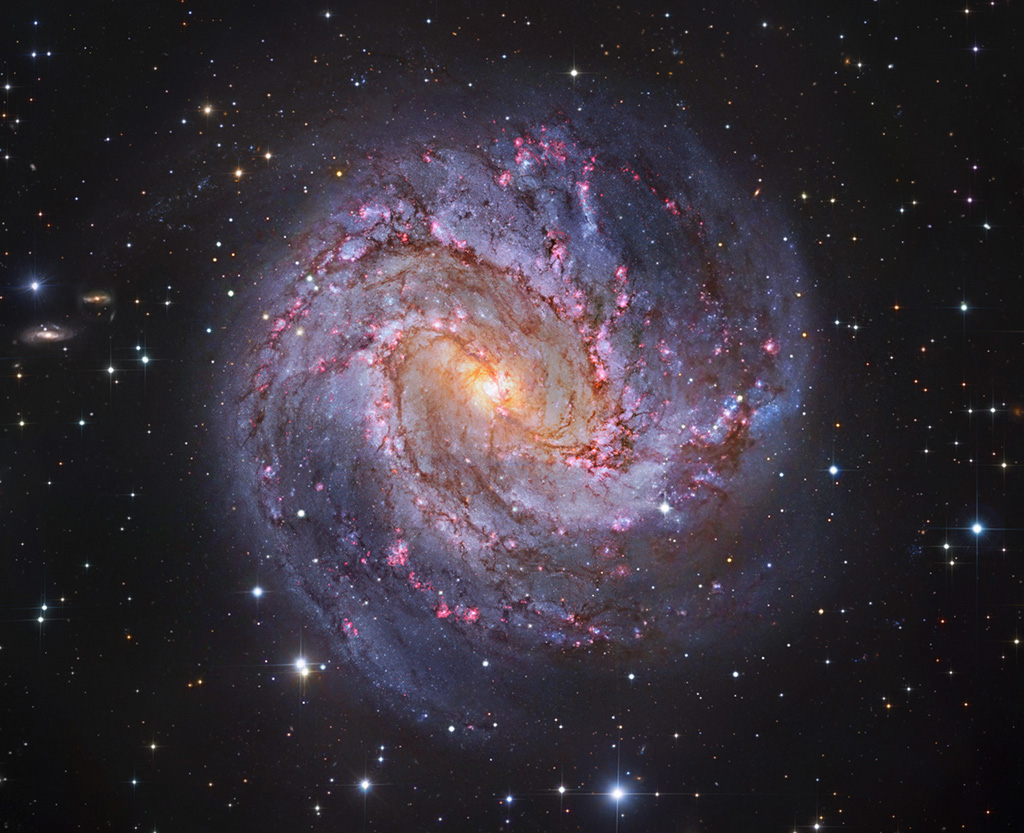 M83: The Thousand-Ruby Galaxx